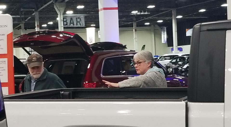 The auto show was held at the Suburban Collection Showplace in Novi, Mich. Jan. 3-5, 2020.