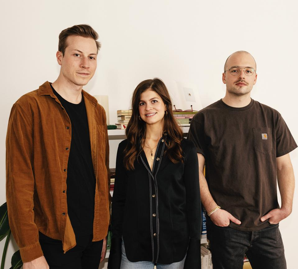 SOFT Founders: (L-R) Patrick Dolezal, Chief Executive Office, Emily Farra, Chief, Chief Operating Officer and Creative Officer, James O'Dwyer