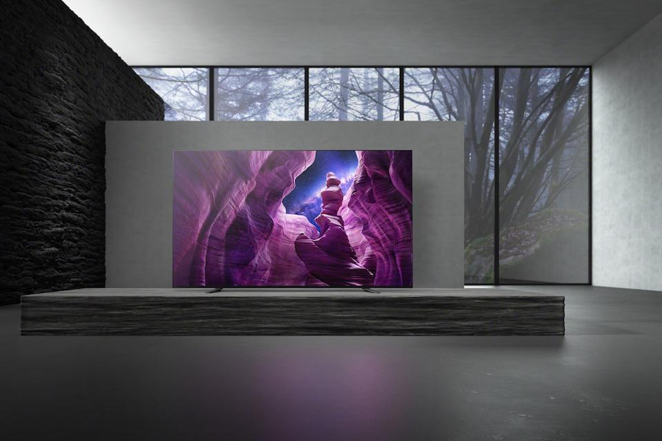 The Sony 65A8 OLED TV.
