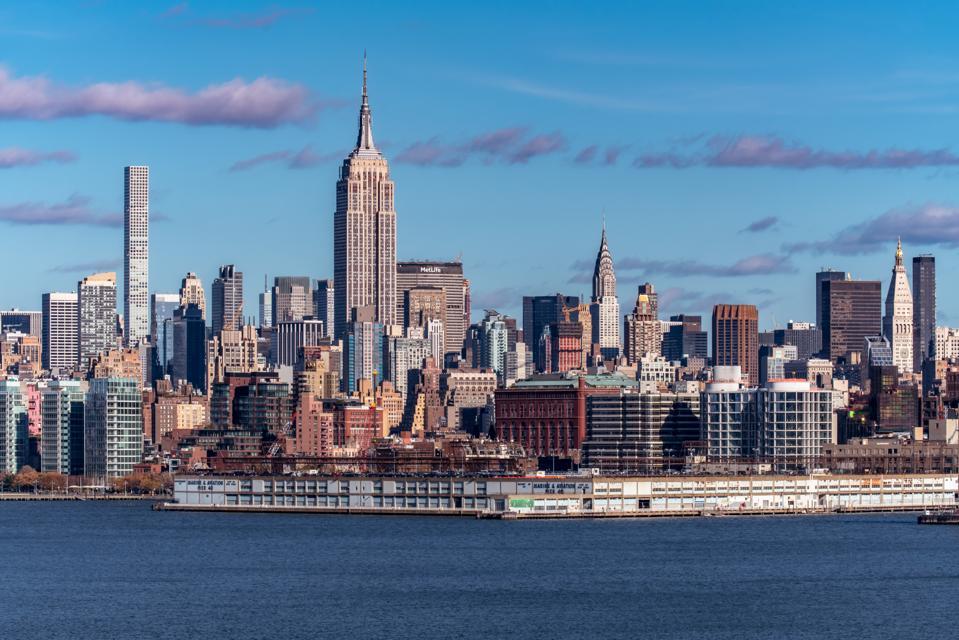 New York City, Manhattan Midtown Skyline, USA
