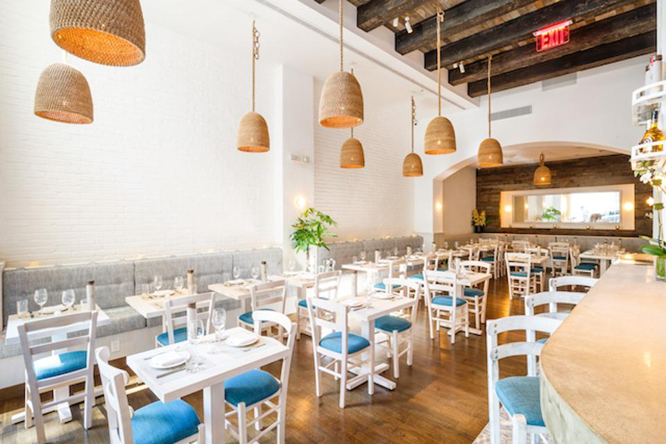 Dining Room at Elea on the Upper West Side
