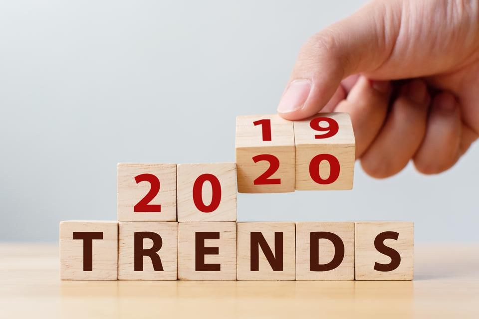 2020 trends, change the year 2019 to 2020