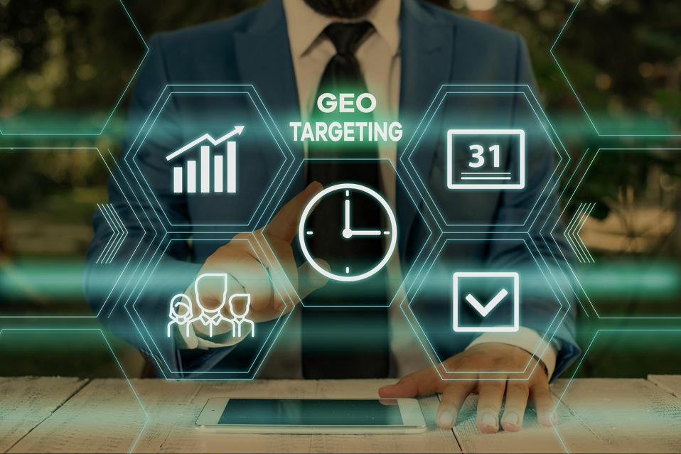 Geotargeting image