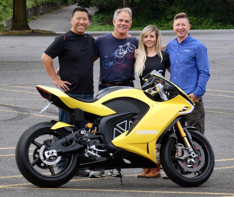 Damon Motorcycle 2020