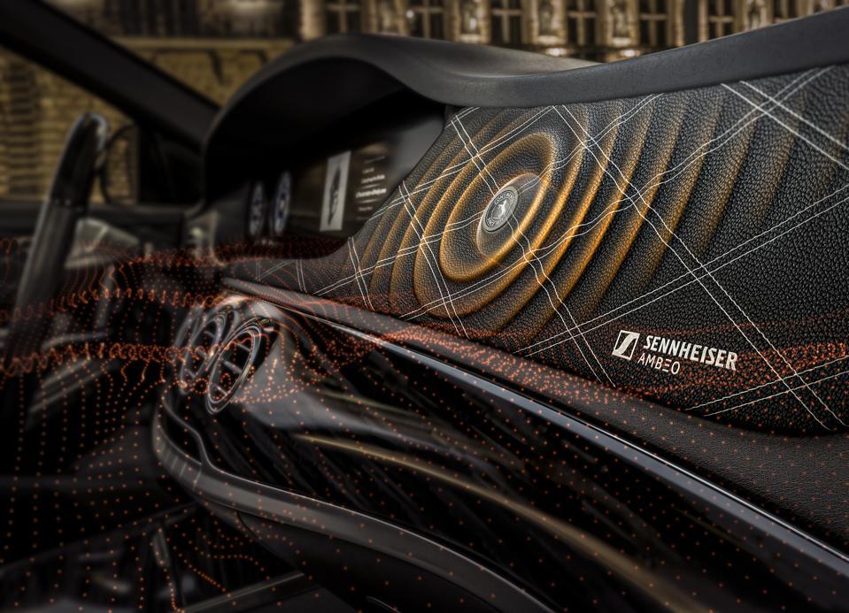 Sennheiser's New Car Audio Doesn't Use Any Speakers
