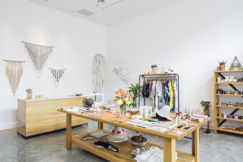 Freda is a hip lifestyle boutique owned by Susannah Lipsey in the Ace Hotel New Orleans.