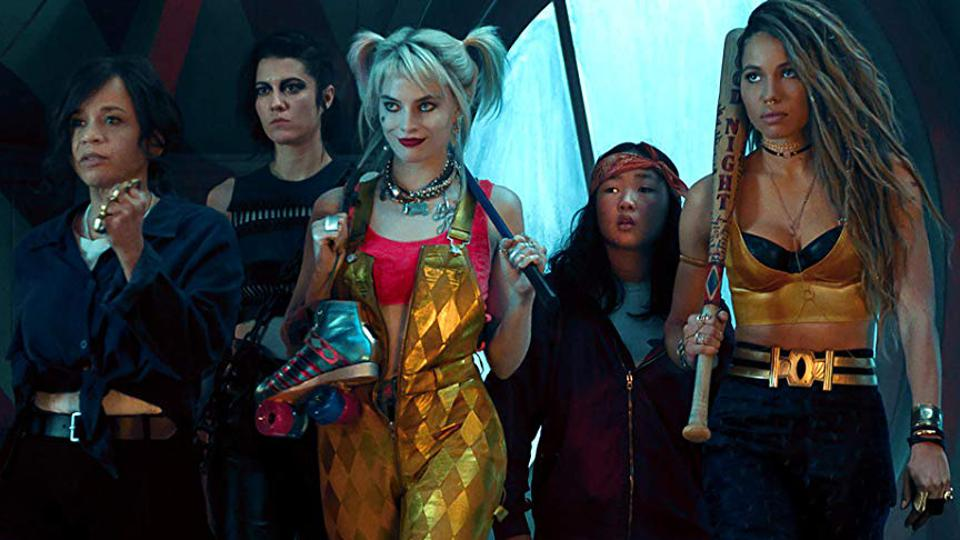 Rosie Perez, Jurnee Smollett-Bell, Mary Elizabeth Winstead, Margot Robbie, and Ella Jay Basco in 'Birds of Prey And the Fantabulous Emancipation of One Harley Quinn'