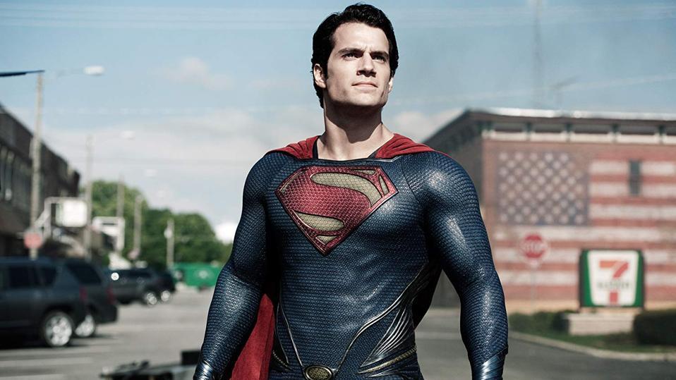 Henry Cavill in Zack Snyder's 'Man Of Steel'