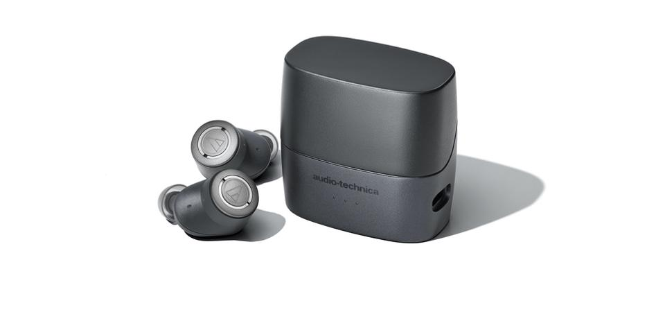 Image result for Audio-Technica announces its first true wireless earbuds with active noise cancellation