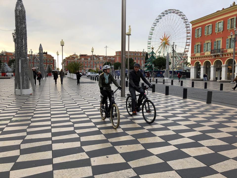 E-biking Nice france