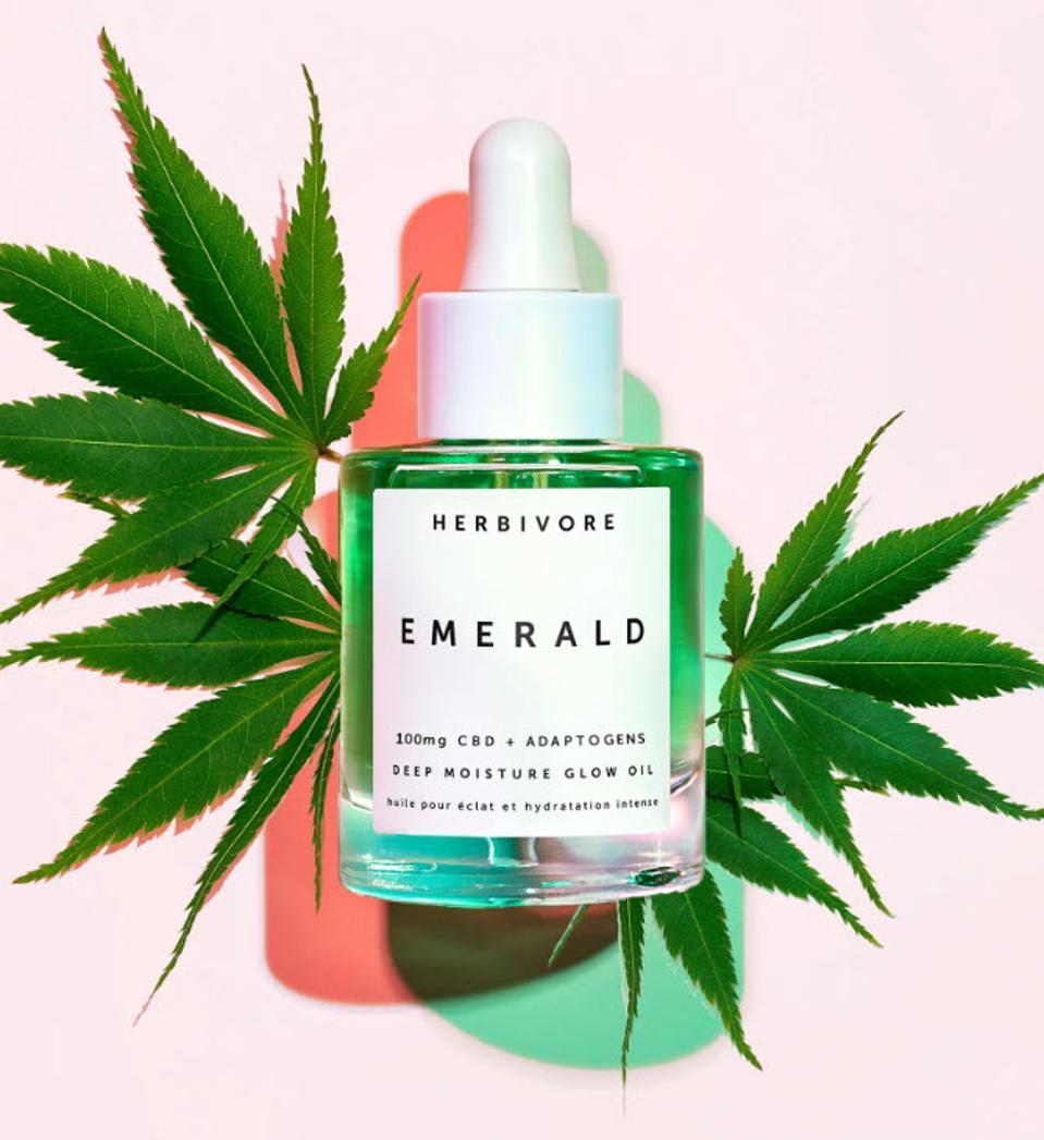 Herbivore Botanicals Emerald CBD oil