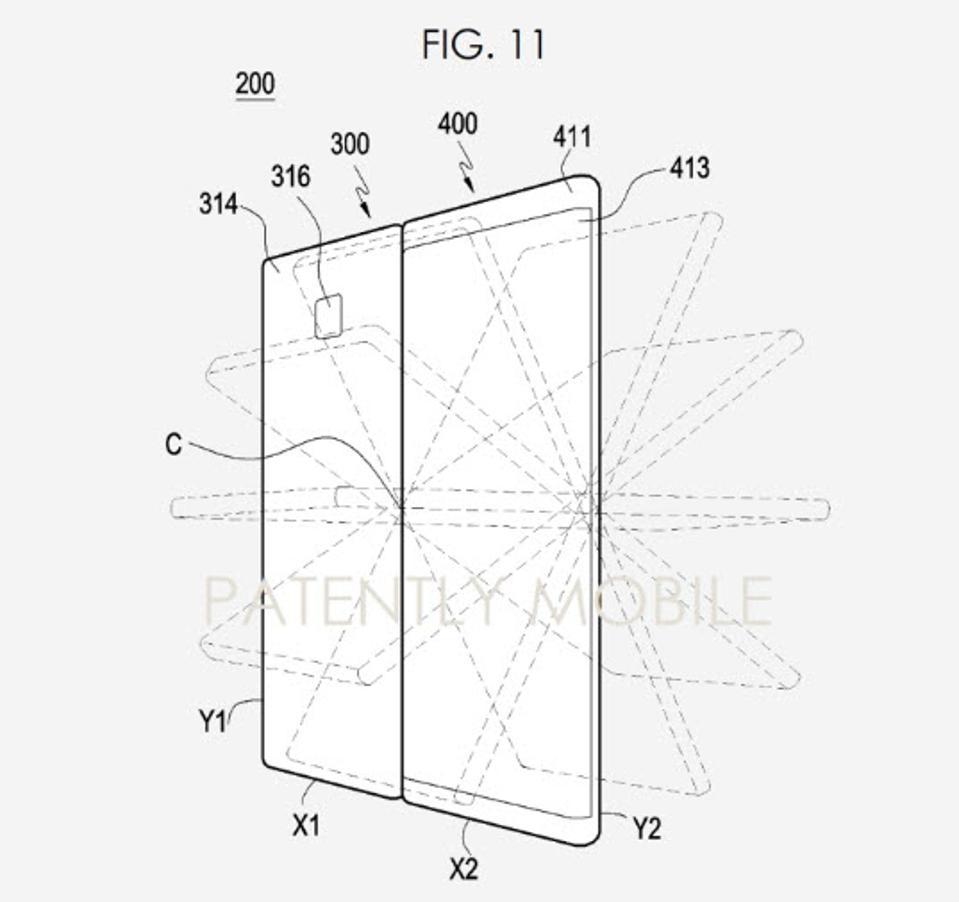 Samsung Galaxy Fold 2, folding smartphone, new Galaxy fold,