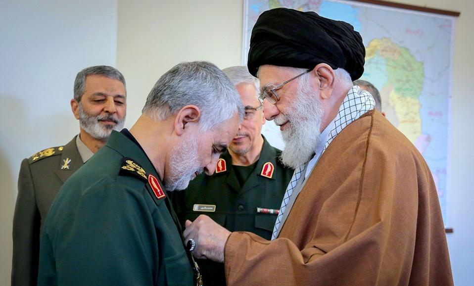 Soleimani&Khamenei