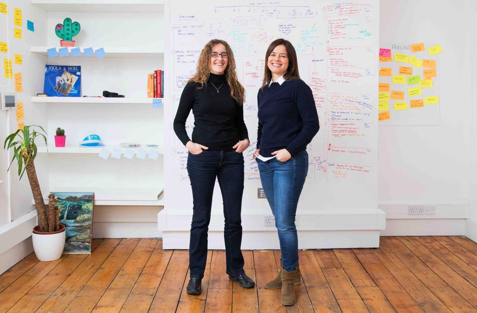 Cyndi Williams (right) and Isabella Degen (left), Co-Founders ISCF Medicines Manufacturing Round 2 Winners Quintech, 16th January 2019