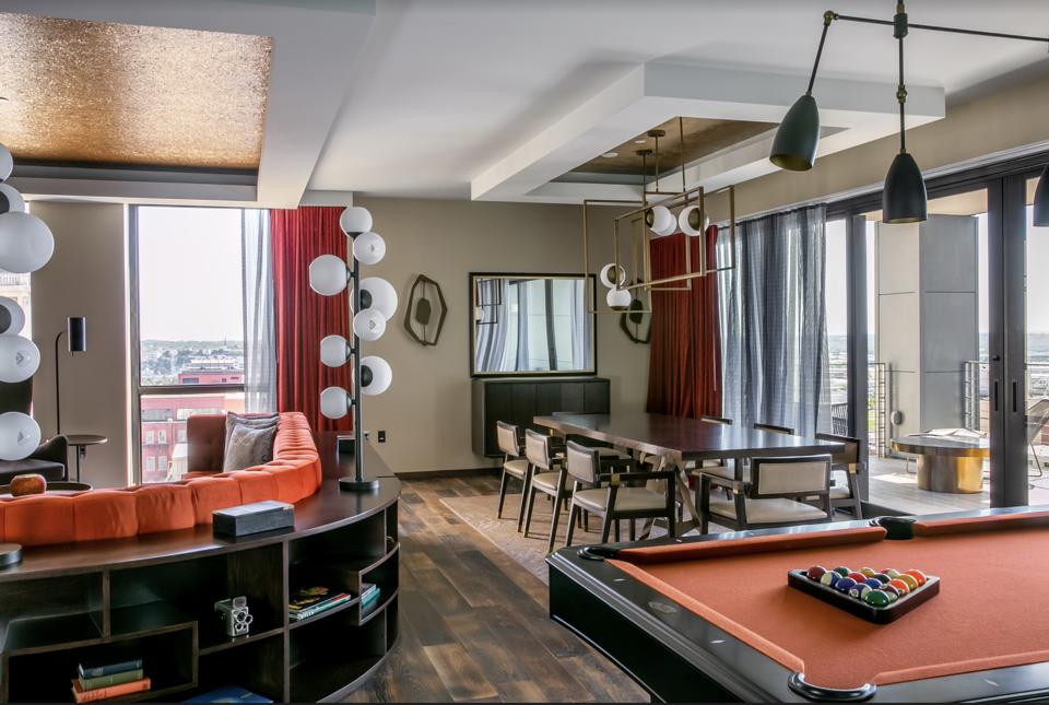 A suite at The Bobby