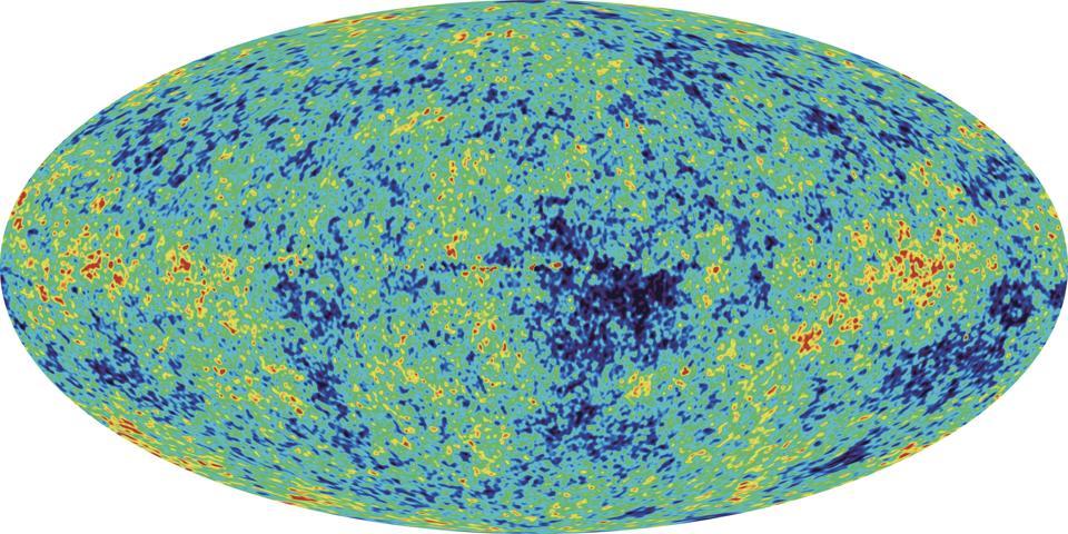 Full-Sky Map Of Cosmic Background Radiation
