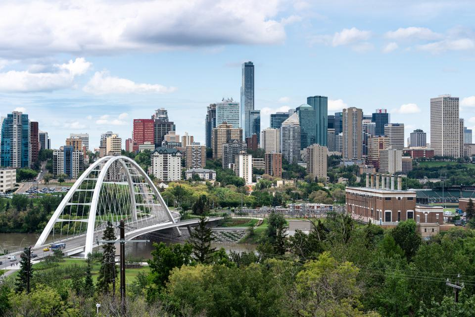 Edmonton Cityscape Edmonton is one of Canada's Hottest Destinations