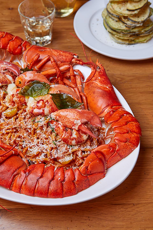 Lobster at Anassa Taverna