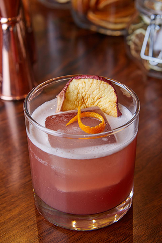 Craft cocktail at Anassa Taverna