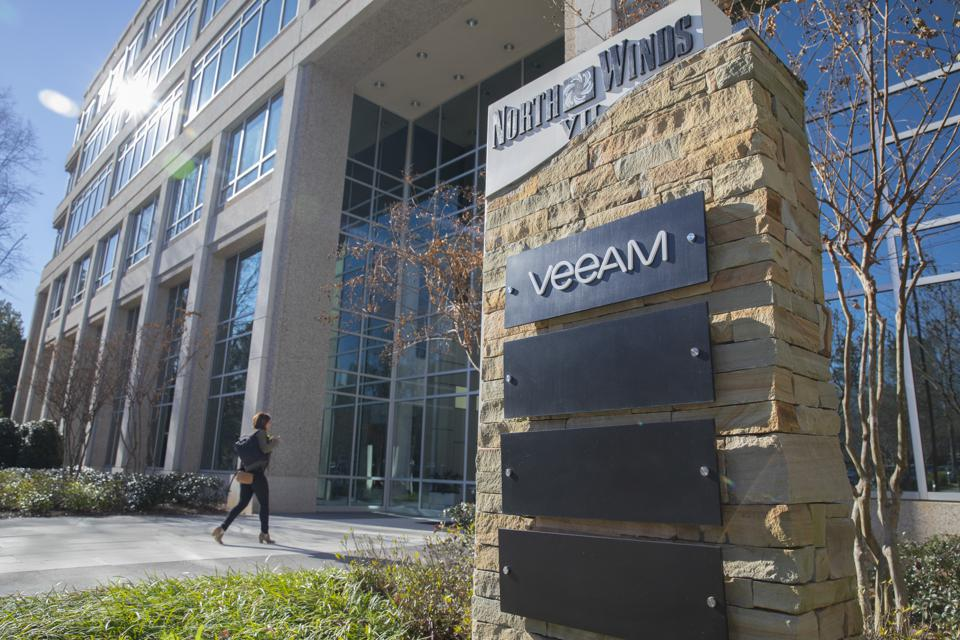 Cloud data management and backup company Veeam's offices