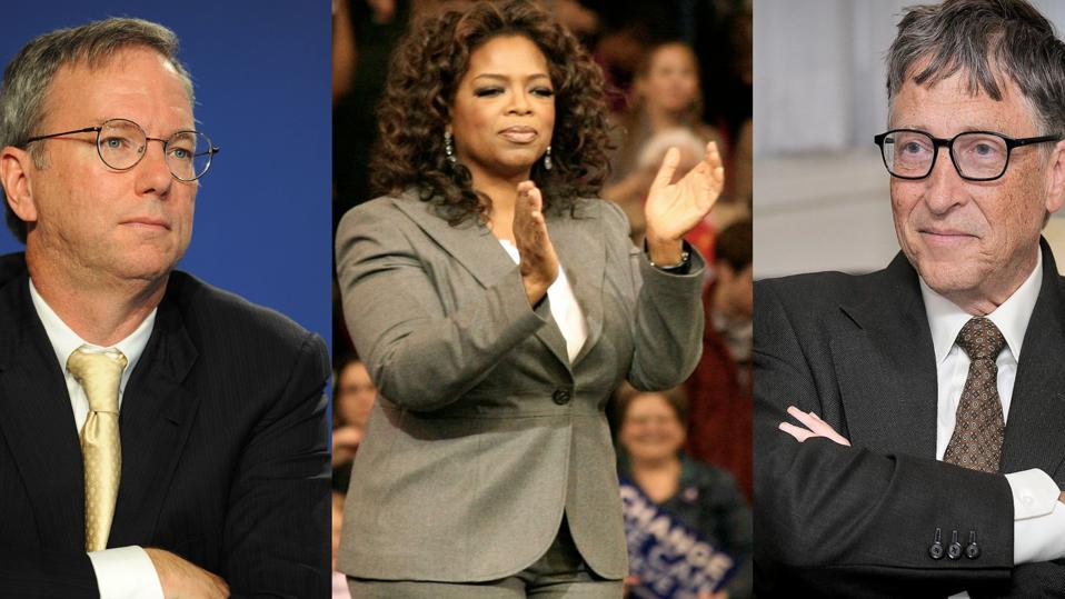 Eric Schmidt, Oprah Winfrey, and Bill Gates all work with a coach