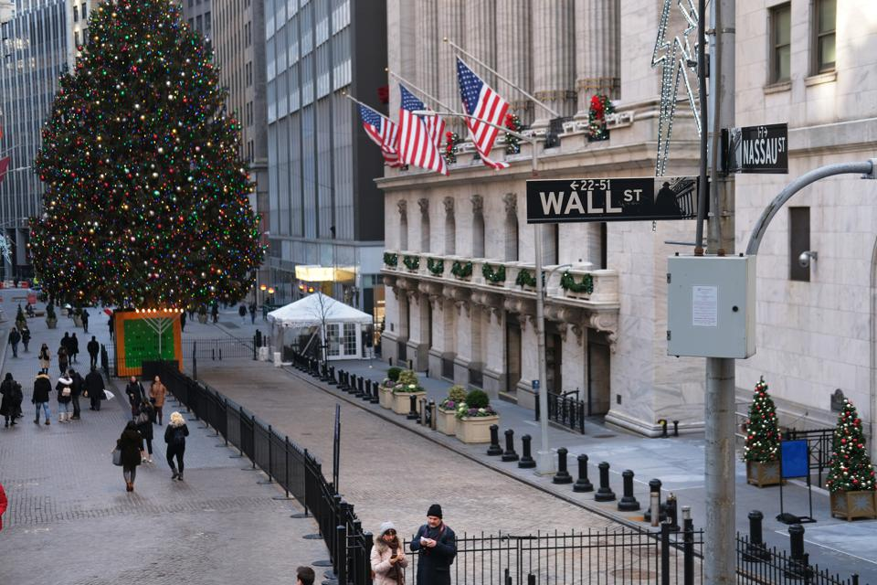 New York Stock Exchange Opens For First Time In 2020