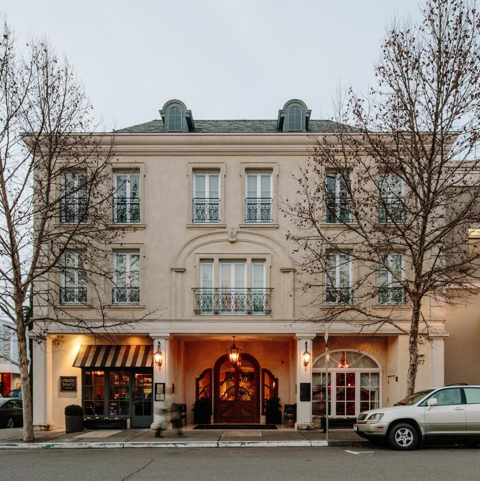 Hotel Les Mars in Healdsburg. Sonoma.