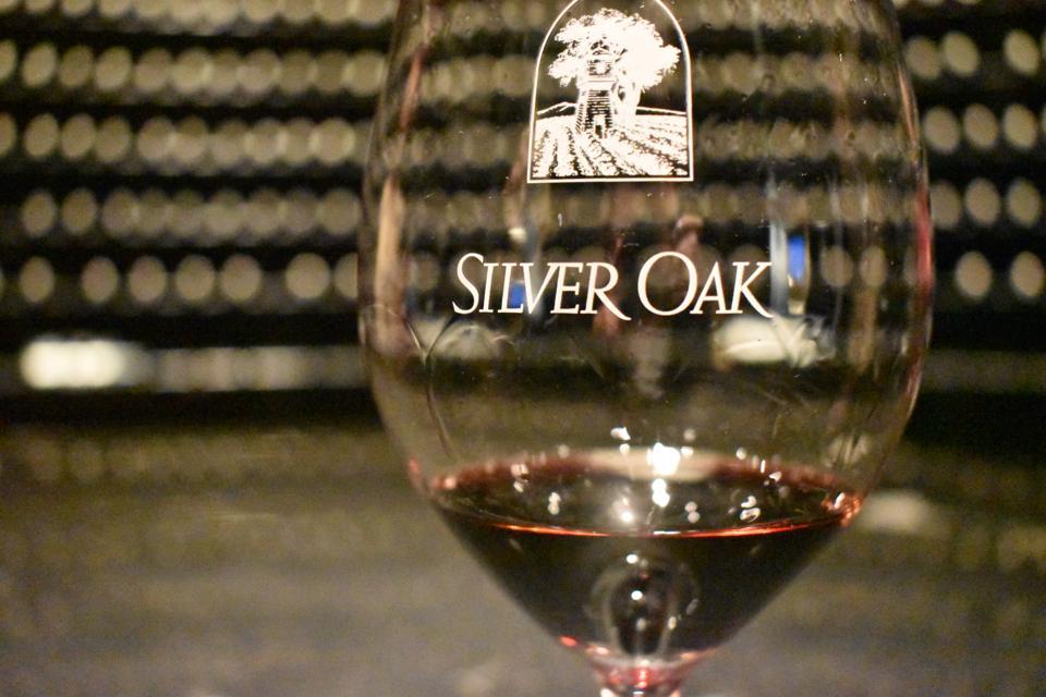 Silver Oak Winery.