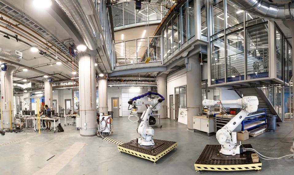 Robots in Autodesk Robotics Lab