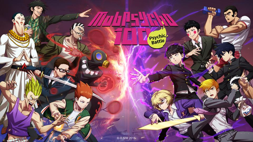 You will be able to collect more than 80 playable characters in ″Mob Psycho 100: Psychic Battle.″