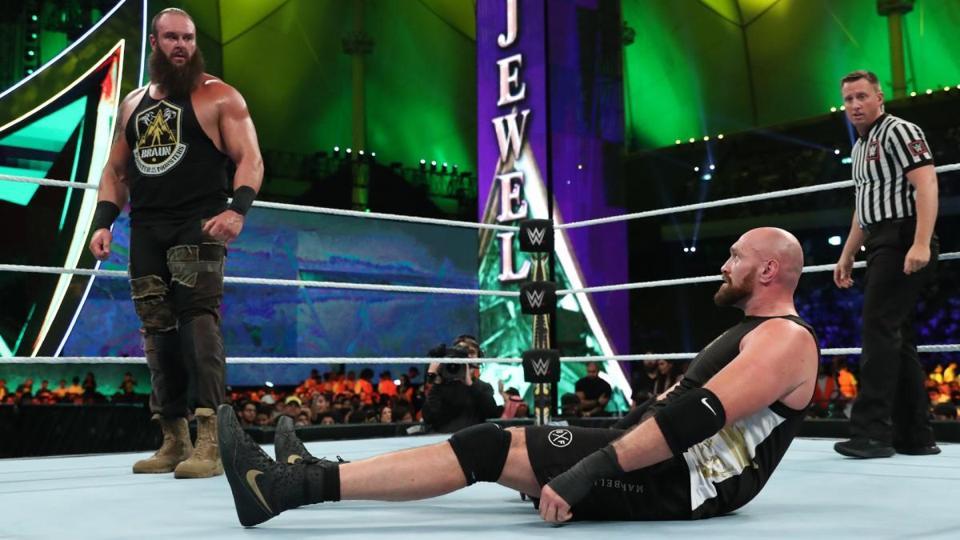 WWE Crown Jewel 2019: Braun Strowman vs. Tyson Fury