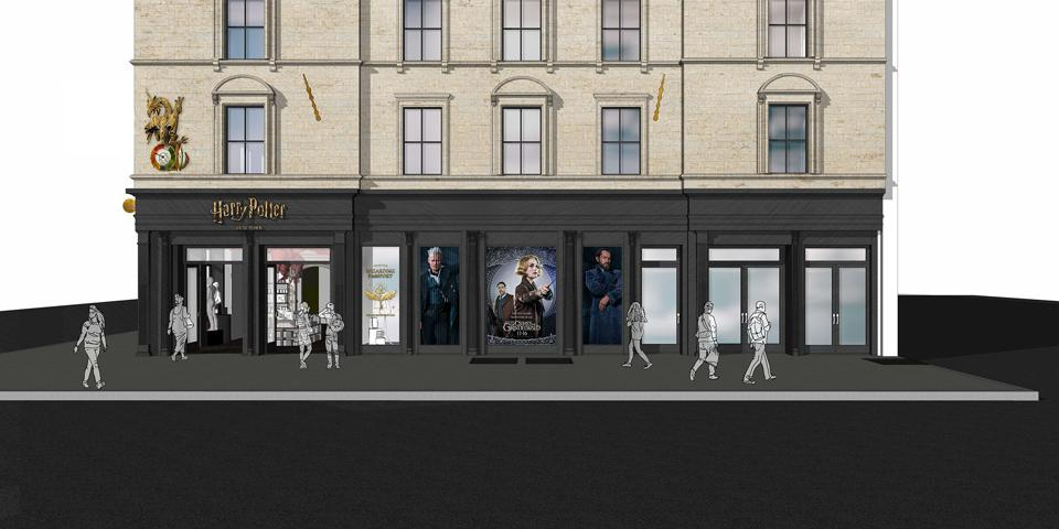 Preview of the 'Harry Potter' flagship store coming to New York in Summer 2020