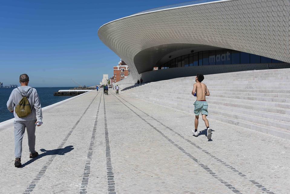 MAAT Museum Lisbon riverside