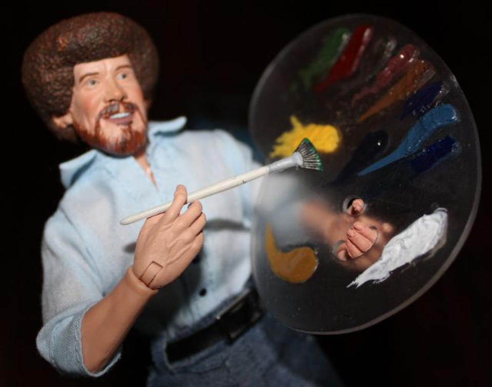Review: TV Painting Icon Bob Ross Gets An Action Figure