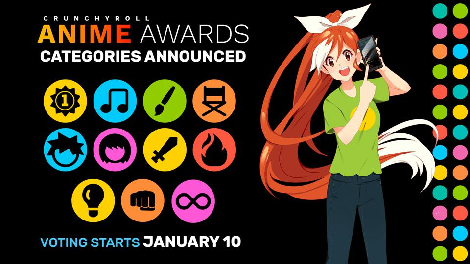 Voting for the Anime Awards is open now.