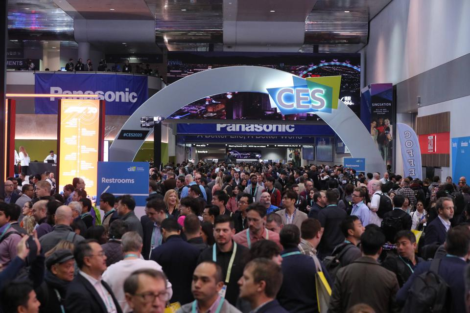 CES 2020 ShowOpening_arch