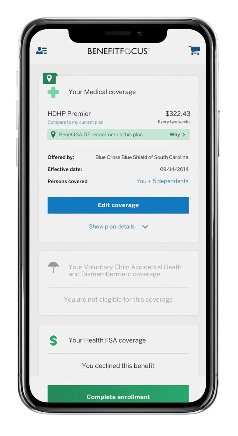 smartphone benefit recommendation