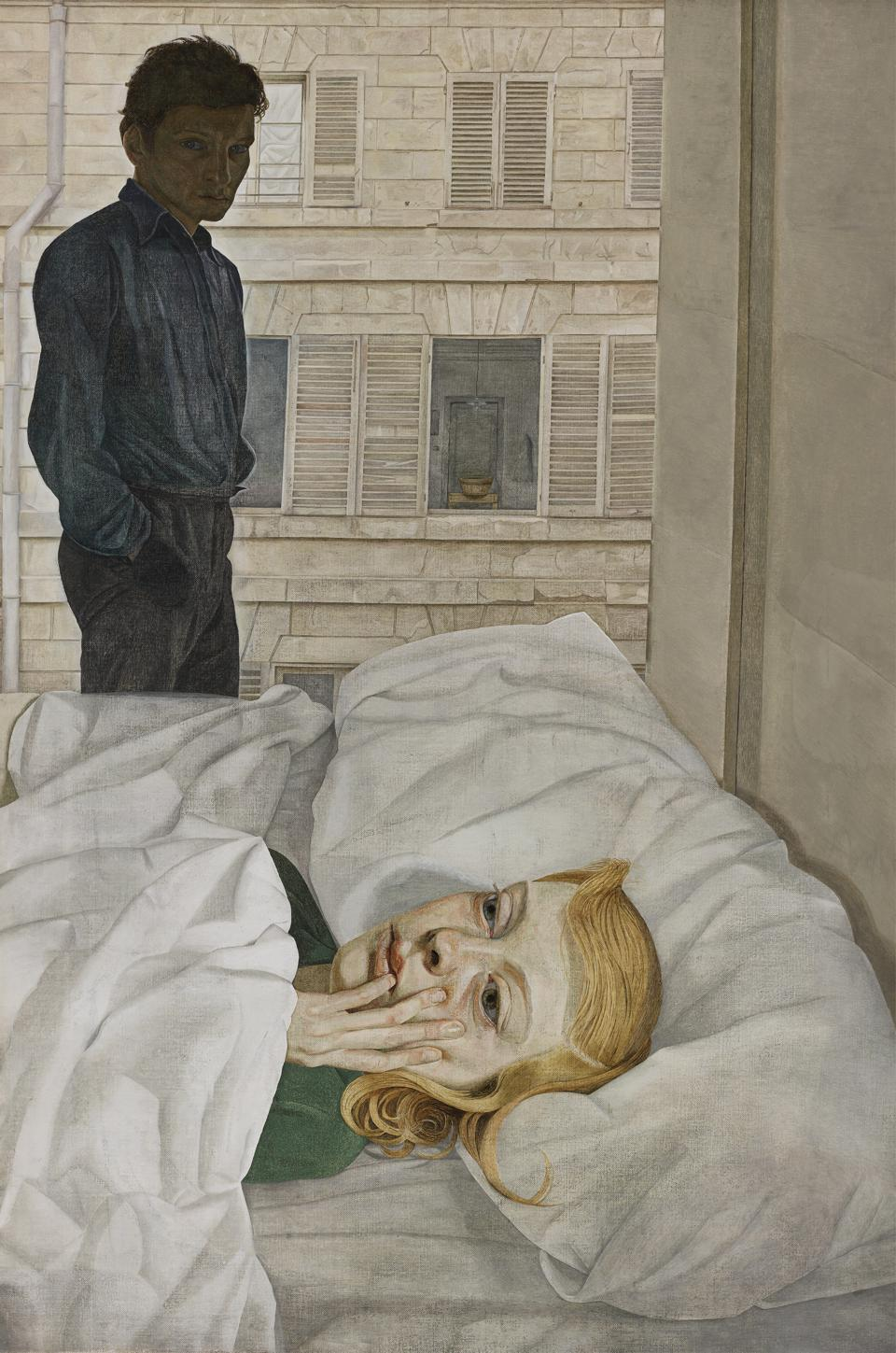 A Rare Look At Lucian Freud's Self-Portraits Casts Light And Shadows On His Evolution As Modern Master