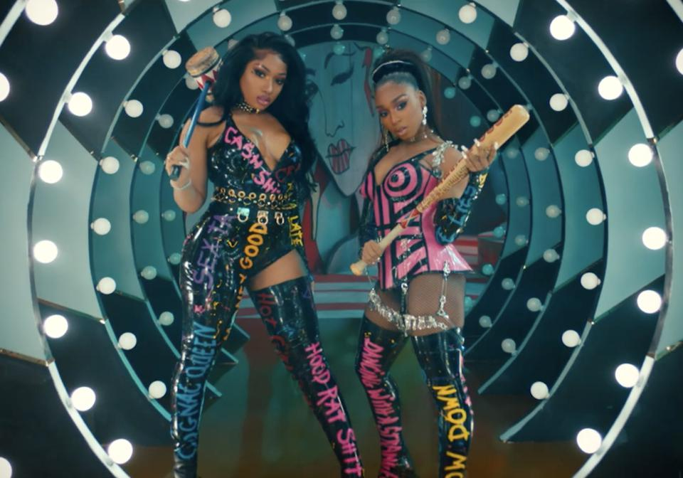 Megan Thee Stallion & Normani Prove That 'Diamonds' Are A Girl's Best Friend