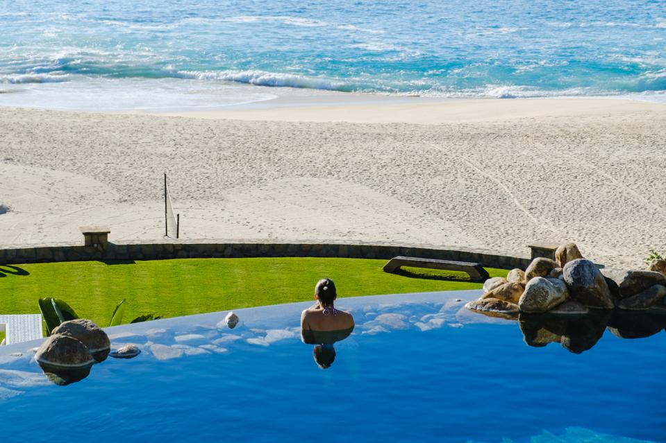 Some of Blue Desert Cabo's rental properties are among the largest private estates in Los Cabos, Mexico.