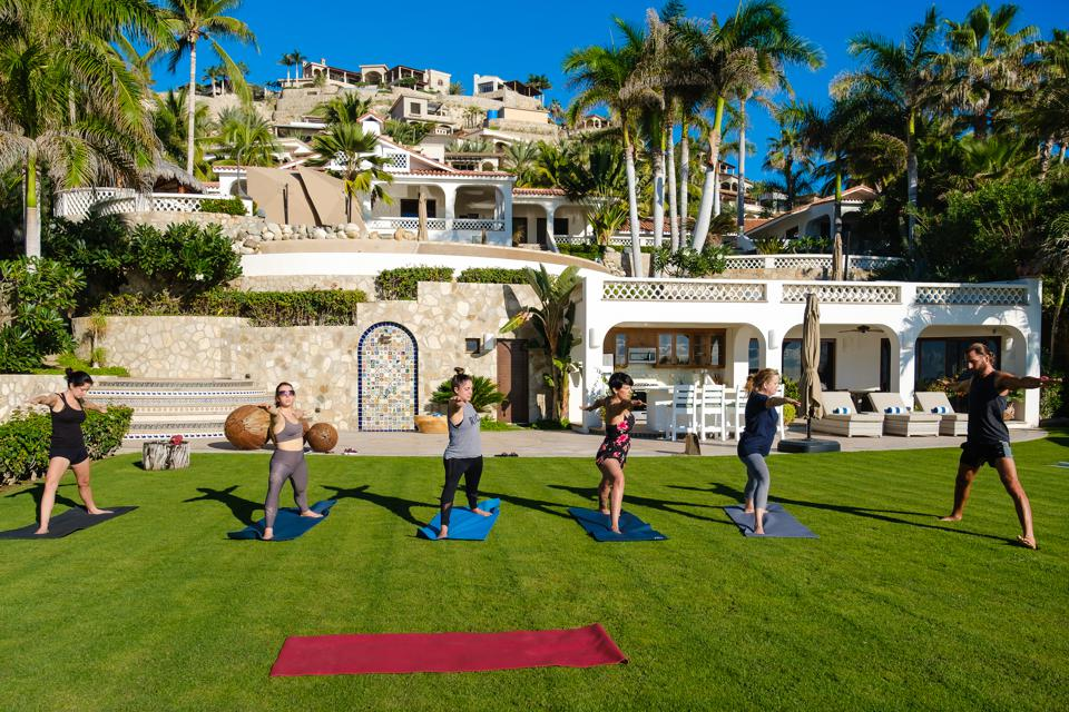 While all of its 25 vacation rentals offer daily maid service, there are many other services available from Blue Desert Cabo on an a la carte basis, such as a private yoga instructor, personal trainer and massage therapist.