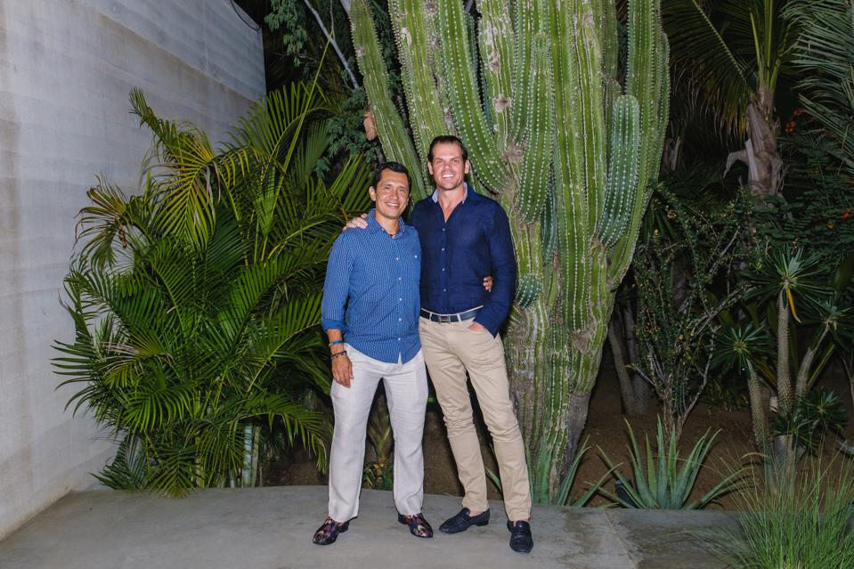 Blue Desert Cabo partners Juan Ramon Guevara (right) and Sean E. McClenahan (left) each have extensive real estate experience.