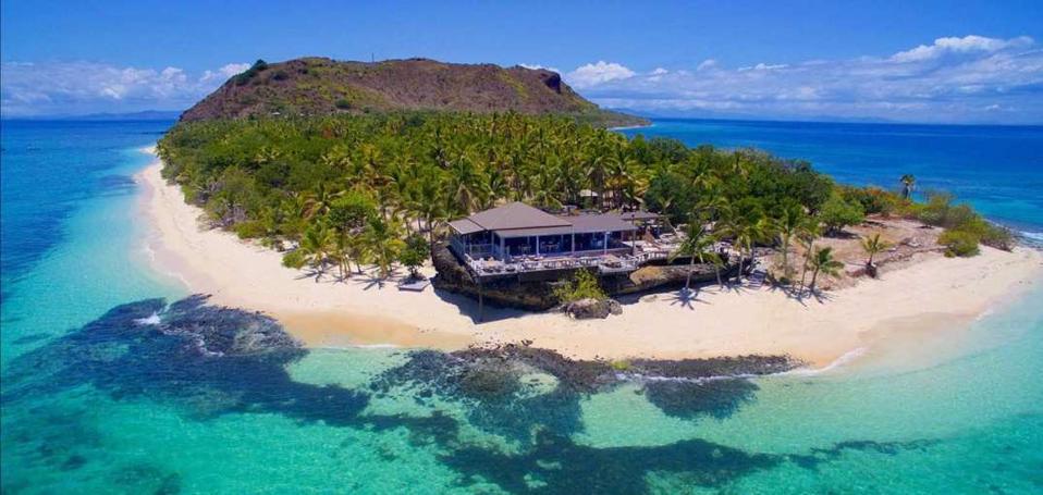 L'île de Vomo aux Fidji