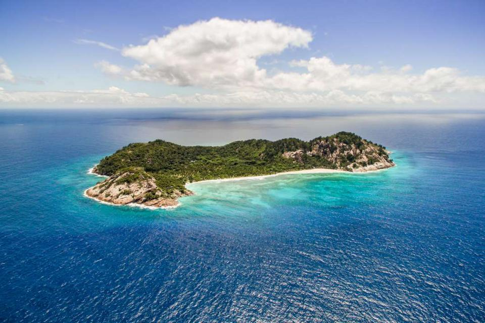 North Island in Seychelles