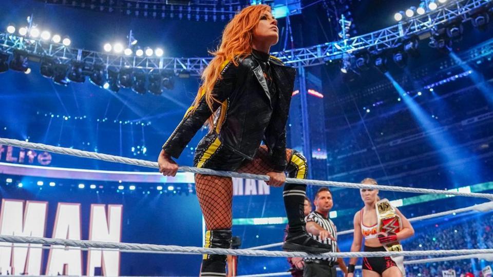 WWE WrestleMania: Becky Lynch vs. Ronda Rousey
