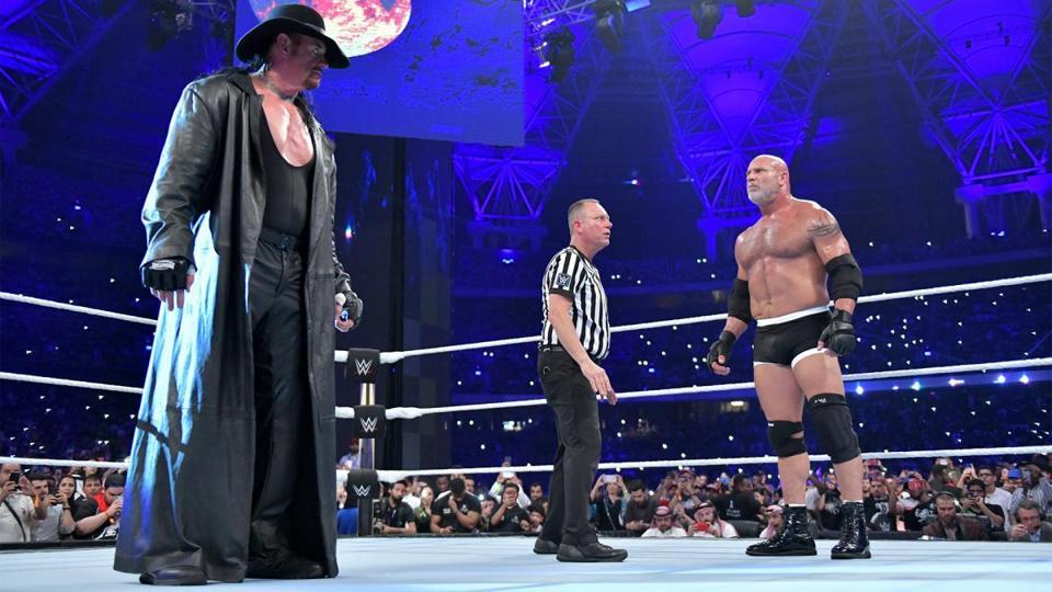 WWE Super Showdown: The Undertaker vs. Goldberg