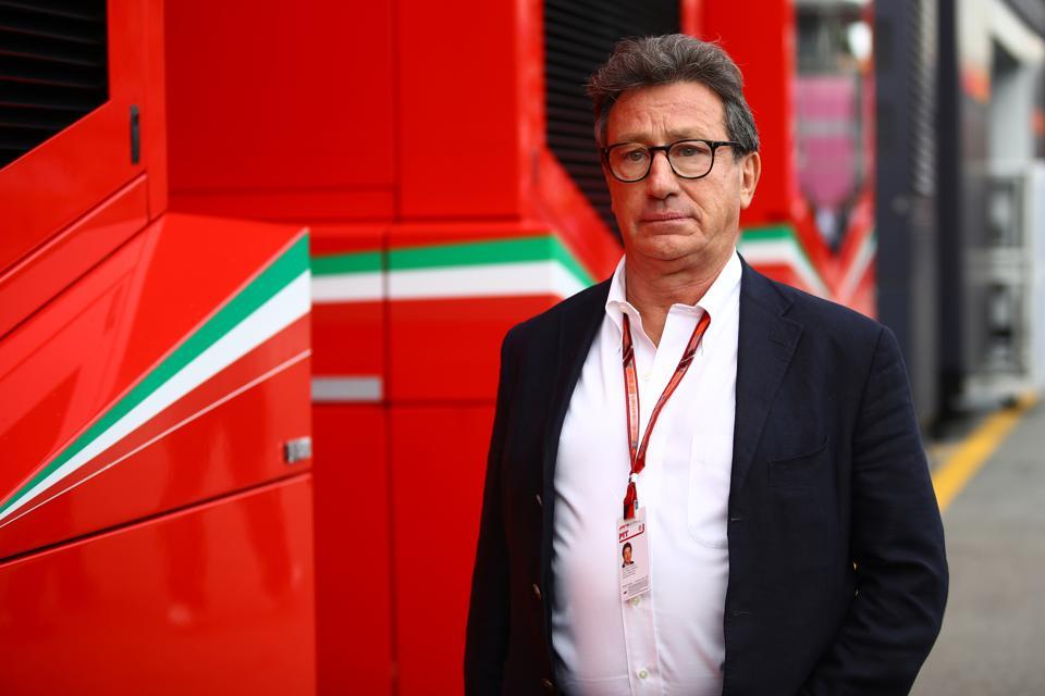 Ferrari booss Louis Camilleri has become an advocate of F1's budget cap (Marco Canoniero/LightRocket via Getty Images)