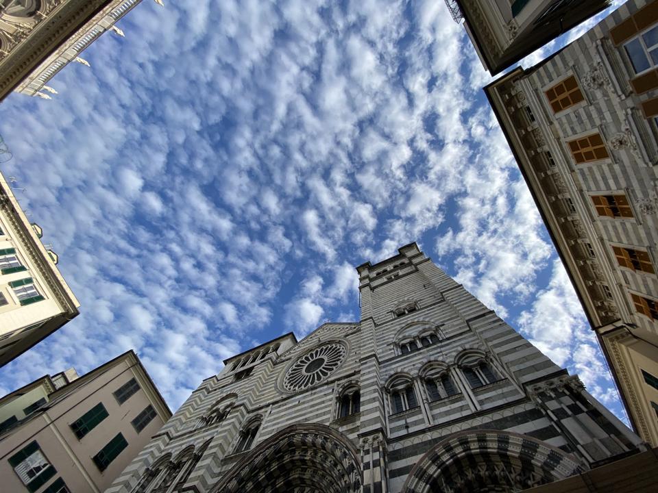 Cathedral of San Lorenzo in Genoa, Liguria, Italy