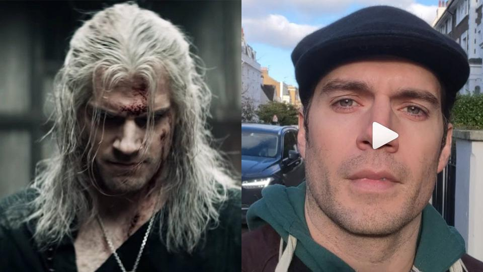 Watch Henry Cavill Thank Fans For Watching 'The Witcher' On Netflix