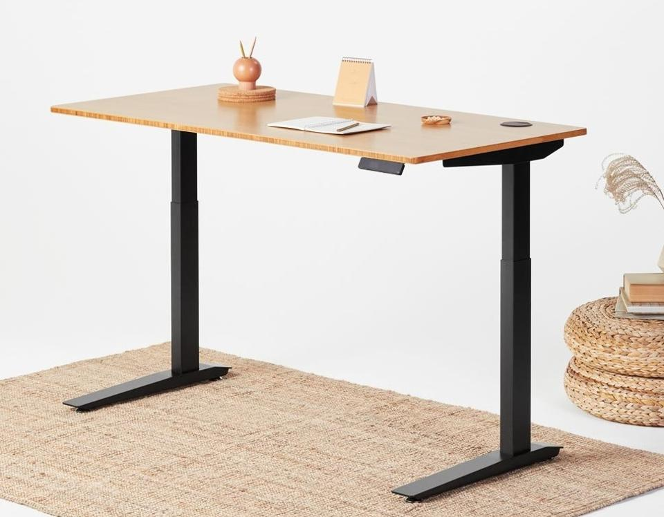 Fully's Jarvis standing desk (in Bamboo)